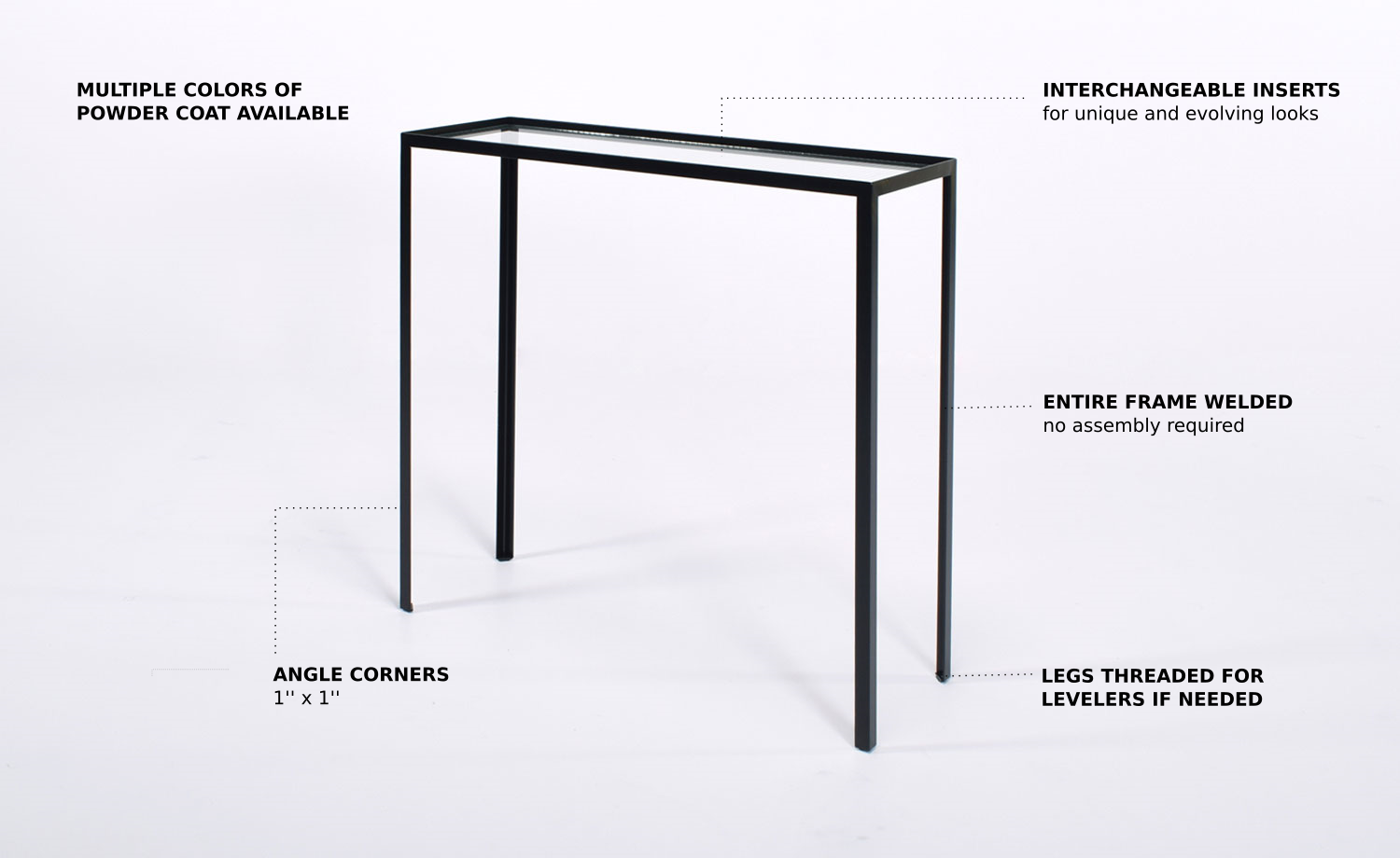 Insider Black side-tables online | Élément de base